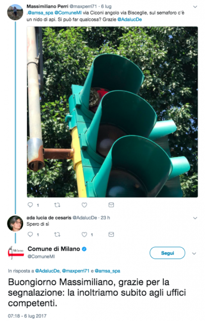 I tweet del Comune di Milano come simbolo di best practice lato social media management nella P.A.